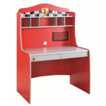 Červený pracovný stôl Race Cup Desk With Unit