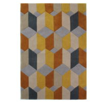 Koberec Flair Rugs Infinite Scope Ochre, 160 × 230 cm