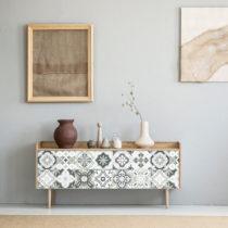 Sada 24 samolepiek na nábytok Ambiance Tiles Stickers For Furniture Belinda, 20&a...