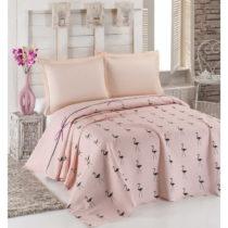 Ľahká prikrývka cez posteľ Flamingo, 200x2...
