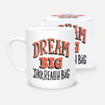 Hrnček z porcelánu U Studio Design Dream Big