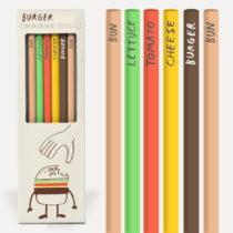 Sada 6 pasteliek U Studio Design Burger
