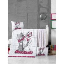 Set bavlnenej detskej obliečky s plachtou Cats, 100 × 150 cm