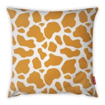 Oranžovo-biela obliečka na vankúš Vitaus Animal Print, 43&...