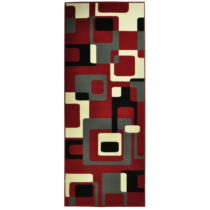 Červený koberec Hanse Home Hamla Retro, 160×230&...