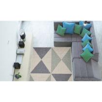 Vysokoodolný koberec vhodný do exteriéru Floorita Geo, 160&...