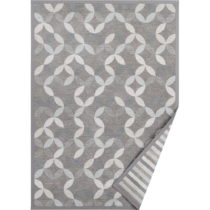 Tmavosivý vzorovaný obojstranný koberec Narma Muusika, 300&...