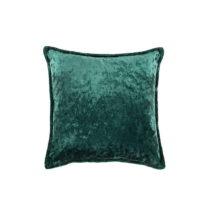 Zelený vankúš White Label Tess, 45×45&#...