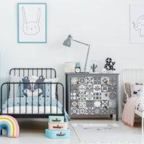 Sada 30 samolepiek na nábytok Ambiance Tiles Stickers For Furniture Pasqualine, 20&#xA0...