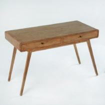 Pracovný stôl z lakovaného dreva borovice Thai Natura Student, 120&#x...