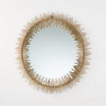 Nástenné zrkadlo s rámom v zlatej farbe Thai Natura, ⌀&#xA...