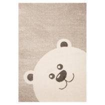 Detský hnedý koberec Zala Living Bear, 120×170&#x...