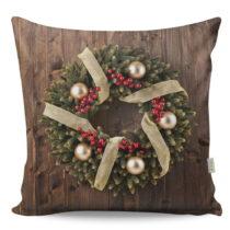 Obojstranný vankúš Wreath, 43 × 43 cm