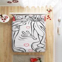 Bavlnené obliečky s plachtou Bugs Bunny, 200 x 220 cm