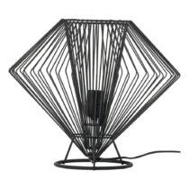 Čierna stolová lampa Vox Cesto, ⌀ 37 cm