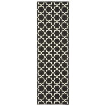 Čierny behúň s bielymi detailmi Hanse Home Joanne, 80&#xD...