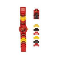 Červeno-žlté hodinky s figúrkou LEGO® Ninjago Kai