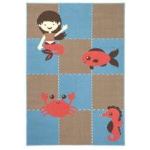 Detský koberec Zala Living Ocean, 140 × 200 cm