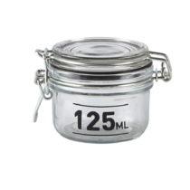 Sklenená dóza s viečkom KJ Collection Jar, 125 ml