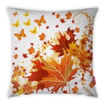 Obliečka na vankúš Vitaus Glaring Leafes, 43×&#x...