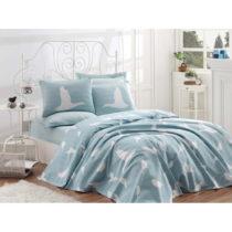 Bavlnený pléd cez posteľ na dvojlôžko Single Pique Mi...