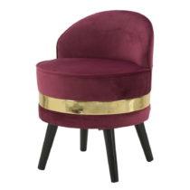 Vínovočervená stolička Mauro Ferretti Paris