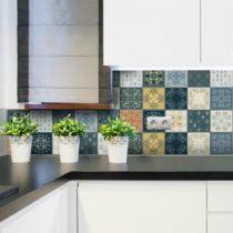 Sada 15 nástenných samolepiek Ambiance Wall Stickers Tiles Azulejos Rio Cuarto, 15...