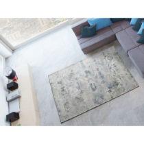 Sivý koberec s prímesou bavlny Universal Chenile Gris, 60 × 110 cm