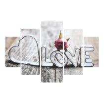 5-dielny obraz Cupid