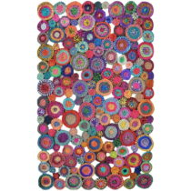 Bavlnený koberec Eco Rugs Whimsical, 150×220 cm