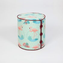 Sedací taburet Dombi Flamingo, ⌀ 41 cm