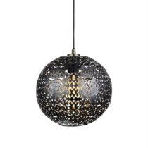 Čierne závesné svietidlo Markslöjd Indigo, ⌀&#xA...