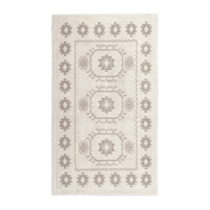Krémový bavlnený koberec Floorist Emily,60×&...