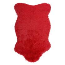 Červený kožušinový koberec Ranto Soft Bear, 70&#...