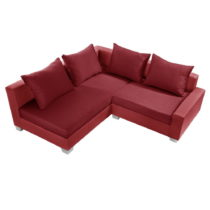 Červená sedačka Interieur De Famille Paris Aventure, ľav&...