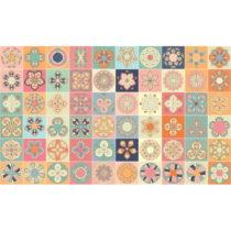 Sada 60 dekoratívnych samolepiek na stenu Ambiance Monteviode, 15×&#...
