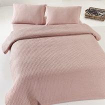 Staroružový ľahký bavlnený pléd cez poste&am...