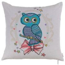 Vankúš s náplňou Kids Owl