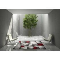 Červeno-sivý koberec Universal Malmo, 160×230&#x...