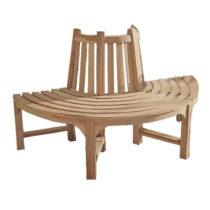 Záhradná lavica z teakového dreva ADDU Java