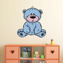 Nástenná detská samolepka Ambiance Teddy Bear, 60 × 55 cm