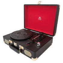 Čierny gramofón GPO Soho Black