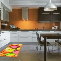Vysokoodolný kuchynský behúň Webtappeti Macarons, 60&...