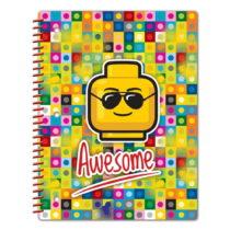 Zošit so špirálovou väzbou LEGO® Iconic Awesome, 96 s...