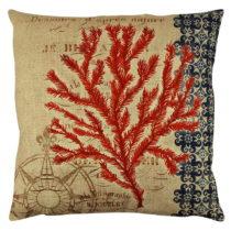 Vankúš s výplňou Gravel Red Tree III, 43×&a...