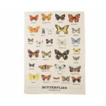 Utierka z bavlny Gift Republic Multi Butterflies, 50 x 70 cm