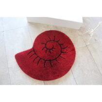 Červená kúpeľňová predložka v pod...
