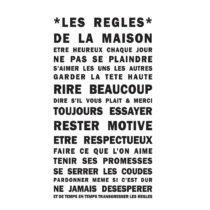 Vinylová samolepka na stenu Pierre, 36×65 cm