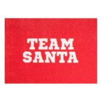 Červená rohožka Mint Rugs StateMat Team Santa, 50 × 75 cm