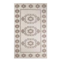 Krémový koberec s prímesou bavlny Yoruk Coffee, 60×&am...